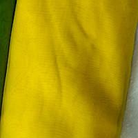 Шифон ярко-желтый
