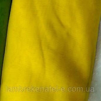 Тюль шифон ярко-желтый
