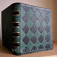 Кожаная обложка для книг., фото 1