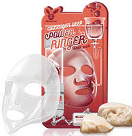 Тканевая маска Elizavecca Deep Power Collagen Ringer Mask Pack