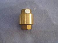 Обратный клапан латунный 1/2 латунный шток