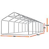 Павільон XXL додатково ЗМІЦНЕНИЙ  8х12м . Каркас + стінки. ЗИМА-ЛІТО. Круглорічний, фото 3