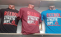 Спортивная мужская футболка Reebok! Оптом и в розницу!