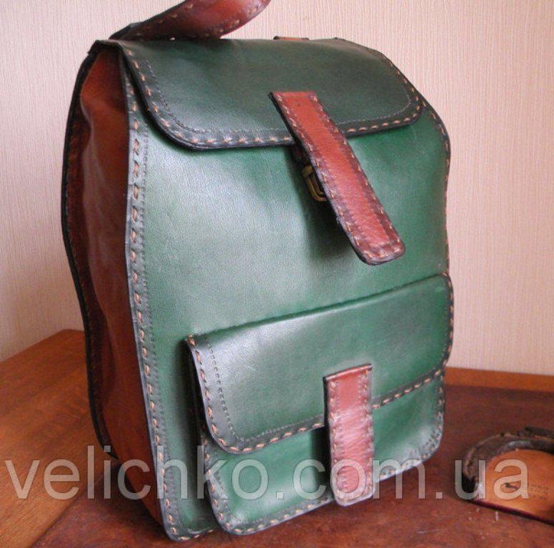 Кожаный рюкзак из кожи