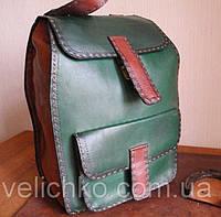 Кожаный рюкзак из кожи, фото 1