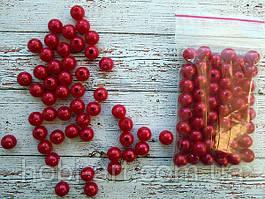 Бусина 8 мм  № 03 (50шт) червона