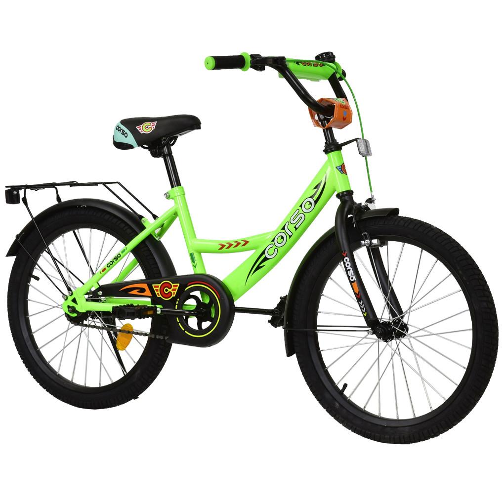 Велосипед CORSO Салатовый С-20505