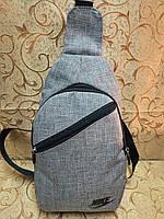 Барсетка NIKE слинг на грудь/Cумка спортивные мессенджер для через плечо 600*600мессенджер(только ОПТ) , фото 1
