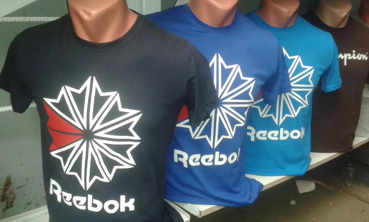 Спортивная мужская футболка REEBOK! Оптом и в розницу! - Olimp в Хмельницком 5895348504f6f