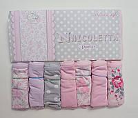 Женские трусики-недельки Nicoletta (7шт.) размер S(42-44) 13992