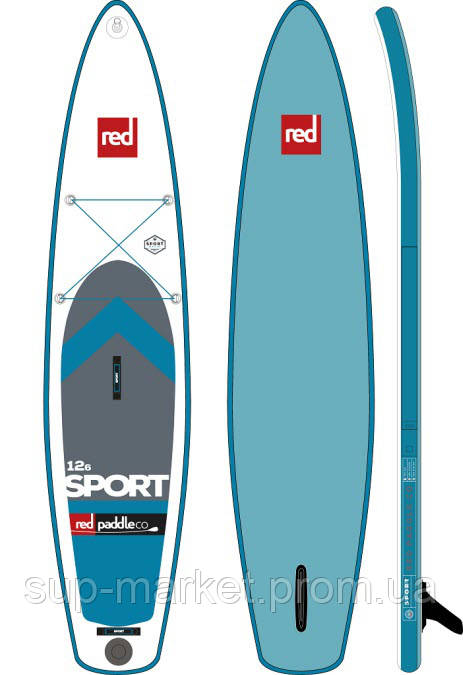 """SUP доска Red Paddle Co Sport 12'6"""" x 30"""", 2017"""