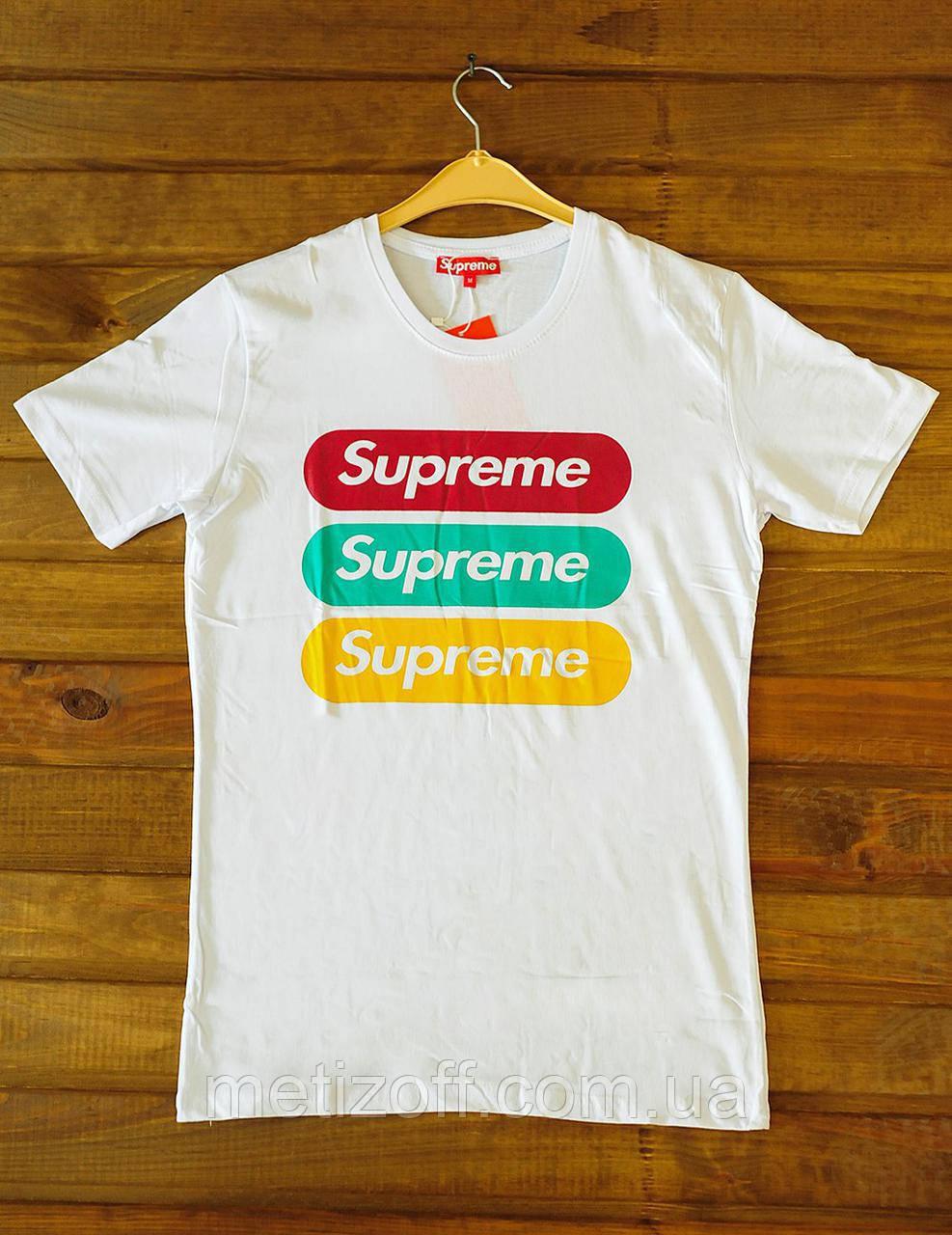 122a2e041be0 Мужская футболка Supreme - Интернет-магазин одежды, обуви и аксессуаров  MiroNis в Днепре