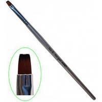 Кисть для геля с деревянной ручкой №6 MART