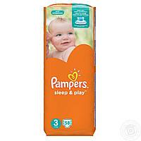 Подгузники Pampers Sleep & Play Размер 3 (58шт)