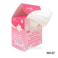 Косметические безворсовые салфетки  NN-07