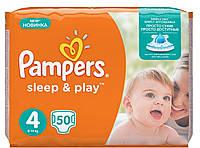 Подгузники Pampers Sleep & Play Размер 4 (50шт)