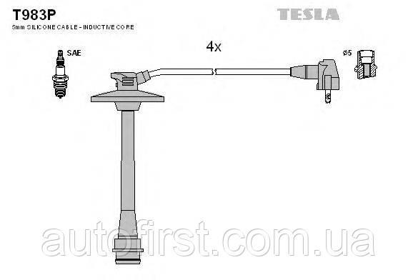 Tesla T983P Высоковольтные провода Toyota