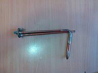 Тэн 1,5 квт флянец гнутый Г-образный для горизонтальных баков под анод.