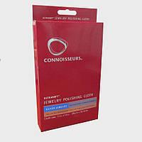 Серветка для чищення та полірування ювелірних виробів зі срібла CONNOISSEURS велика