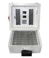 Інкубатор для яєць з автоматичним переворотом Несучка БІ-1(БІ-2) 77 яйця вихід на 12В+вентилятор, фото 1