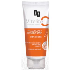 Крем для ніг AA Vitelite  для шорсткої шкіри 75мл.