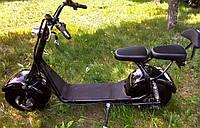 Электробайк Citycoco 1000Ватт (черный) MINI