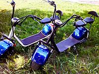 Электробайк Citycoco 1000Ватт (синий) MINI, фото 1