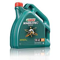Синтетическое моторное масло Castrol Magnatec 5w-40 Diesel DPF 4L