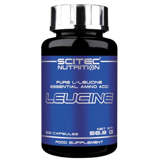 Аминокислоты Scitec Nutrition Leucine 100 caps