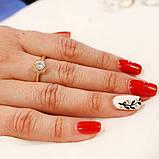 Кольцо, камешки Swarovski, фото 2