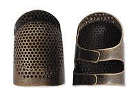 Наперсток металлический с открытым кончиком (средний), Clover