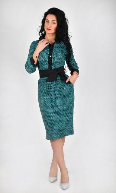 Деловое женское платье. Размер 42