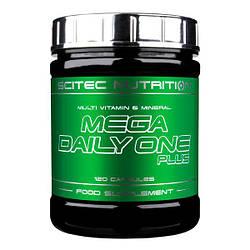 Вітаміни Scitec Nutrition Mega Daily One Plus 120 caps