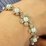 Комплект браслет и серьги, фото 3