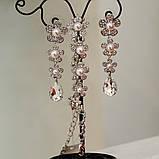 Комплект браслет и серьги, фото 4