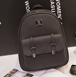 Рюкзак жіночий чорний Sujimima, фото 2