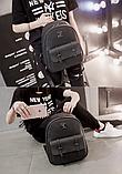 Рюкзак жіночий чорний Sujimima, фото 3