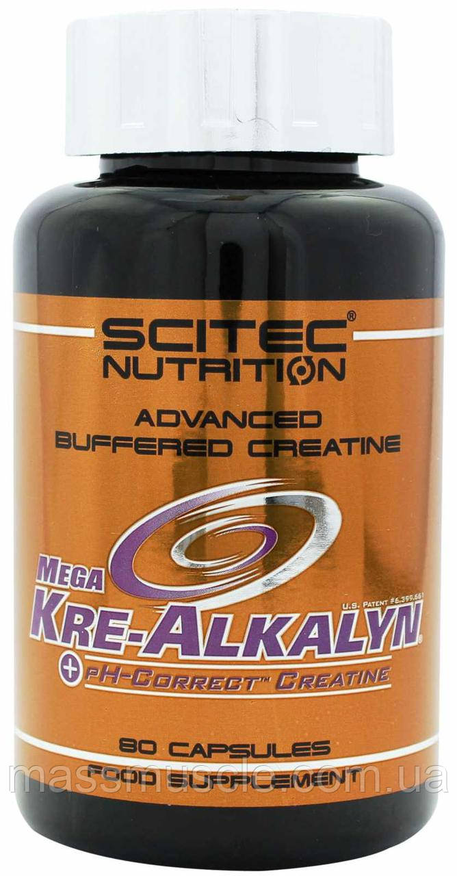 Креатин Scitec Nutrition Mega Kre-Alkalyn 80 caps