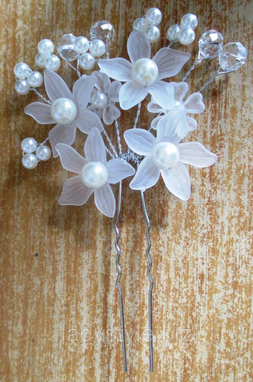 """Шикарное украшение  для волос """"Букет цветов""""  от LadyStyle.Biz"""