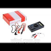 Цифровой мультиметр 838, В мВ, А, мА, мкА, кОм, МОм, Ом, 9 В, Тестер цифровой, мультиметр, измерительный прибор мультиметр, прибор для измерения