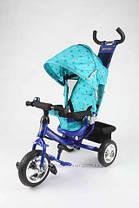 Детский трехколесный велосипед AZIMUT Trike фирмы Baby Club типа Profi Trike с Куполом., фото 2