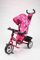 Детский трехколесный велосипед AZIMUT Trike фирмы Baby Club типа Profi Trike с Куполом., фото 3