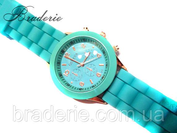 Наручные часы Geneva бирюзовые, фото 2
