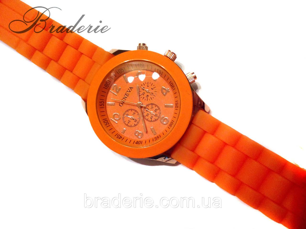 Наручные часы Geneva оранжевые