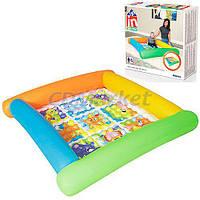 BestWay Акция! Детский надувной сухой бассейн BestWay 52240. Скидка 10% на второй при покупке двух бассейнов! Скидка 3 % на насос, ремкомплект и