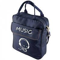 6407c8a7a98c Небольшая сумка-рюкзак синего цвета Traum арт. 7022-11