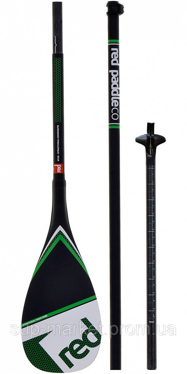 Весло для SUP Red Paddle Co Glassfibre 3pc Paddle (LeverLock)