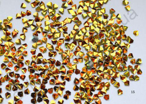 3D бриллианты (кристалл) #15 для дизайна ногтей