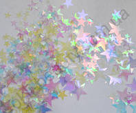 Камифубуки звезды прозрачные голограммные микс