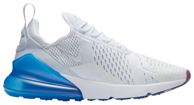 58280668 Кроссовки/Кеды (Оригинал) Nike Air Max 270 White/Metallic Silver/Photo